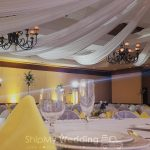 rent elegant ceiling draping