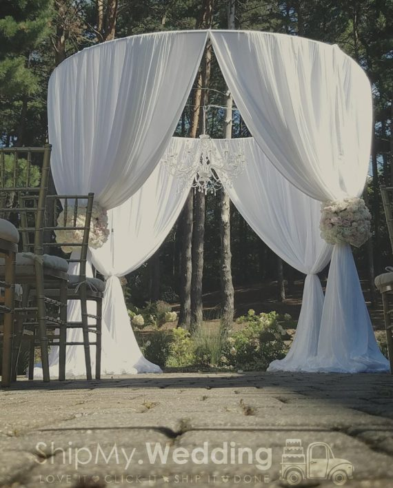 rent ceremony chuppah