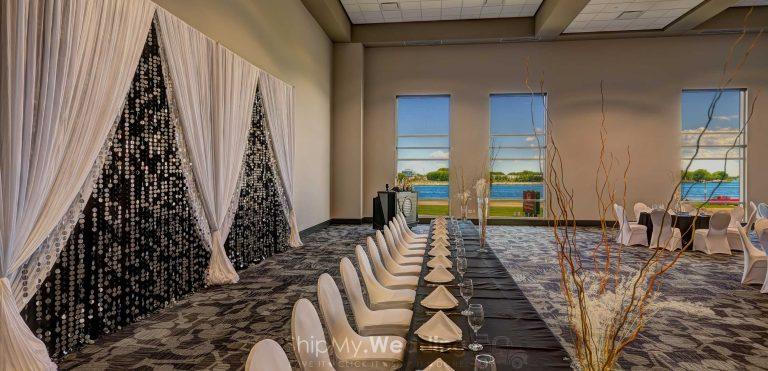 wedding head table backdrop rentals