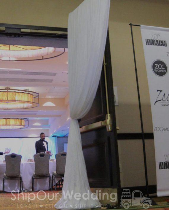 wedding_draped_corners_by_door