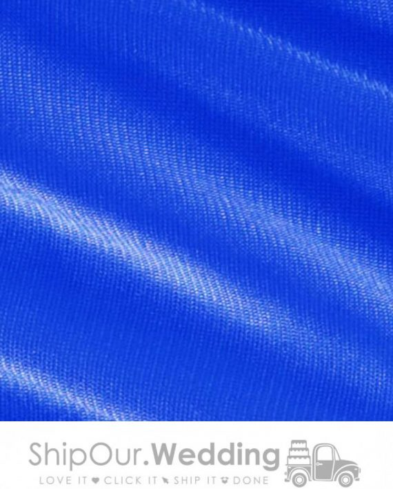blue color drapery fabric