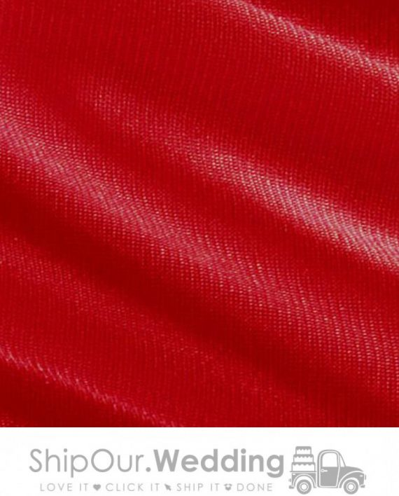 red color drapery fabric