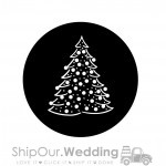 steel gobo christmas tree