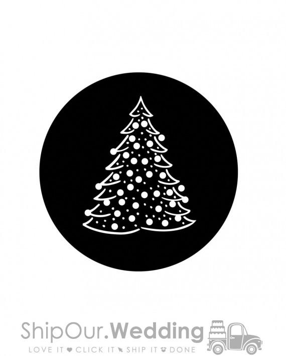 steel gobo christmas tree