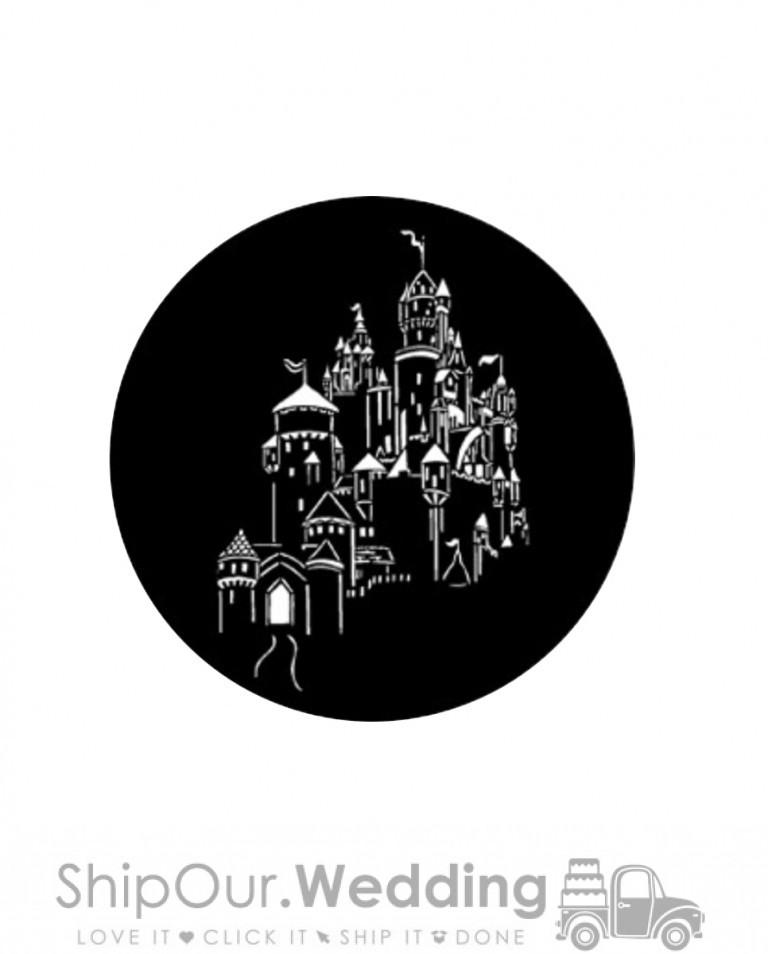 steel gobo fantasy castle 2