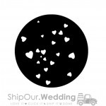 steel gobo hearts small