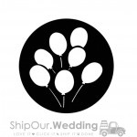 steel gobo large balloons