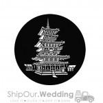 steel gobo chinese pagoda