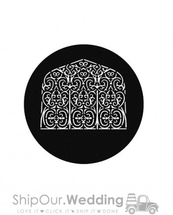 steel gobo persian window