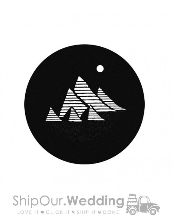 steel gobo pyramids