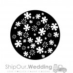 rent steel gobo breakup disco flowers