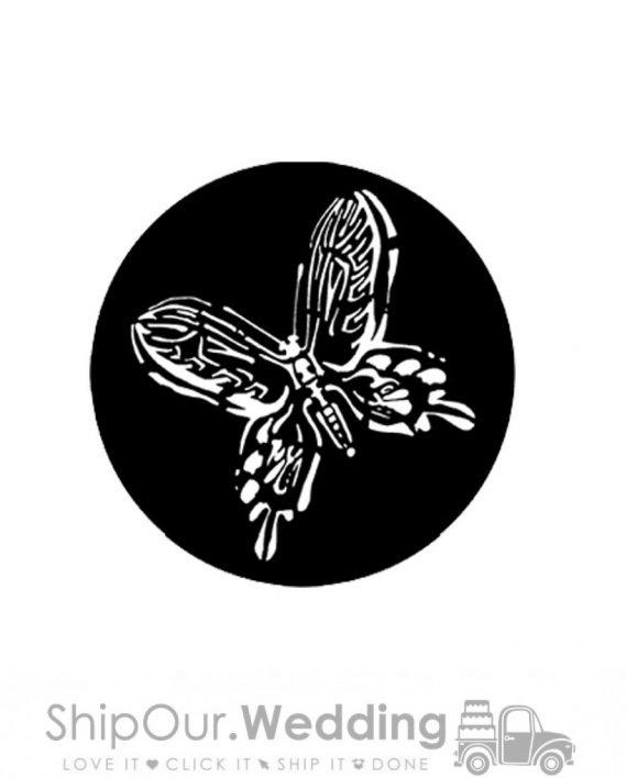 steel gobo butterfly