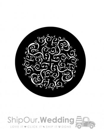 steel gobo curling ribbon