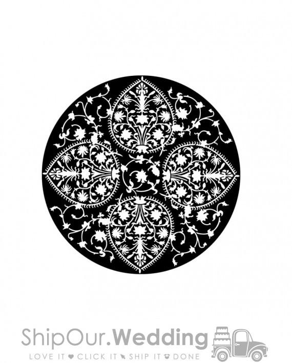 steel gobo persian lace