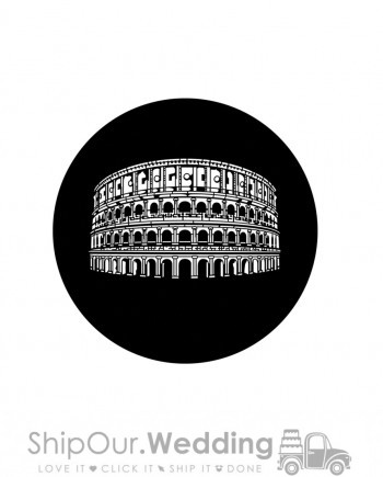steel gobo roman coliseum