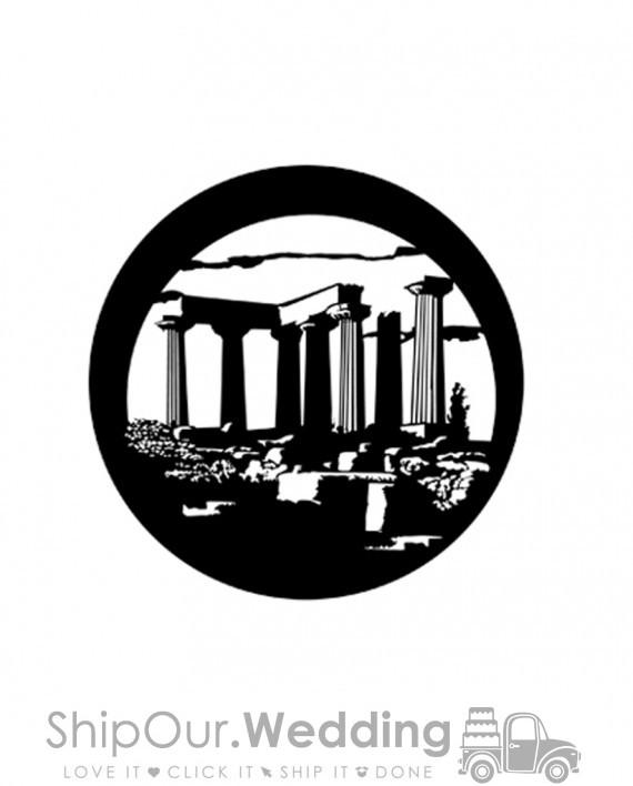 steel gobo temple of apollo