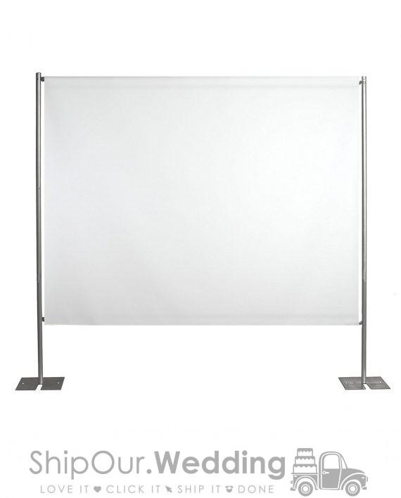 rent portable projector screen