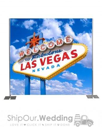 Las Vegas step repeat backdrop