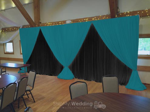 Pipe and Drape (Top Single Valance)