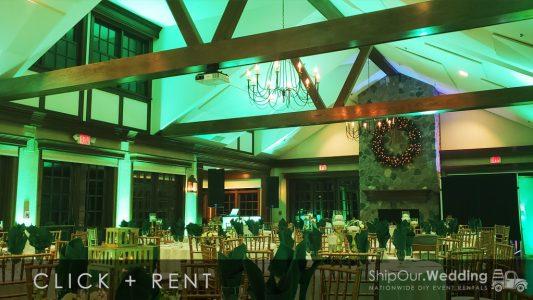 mint_green_lighting_for_wedding